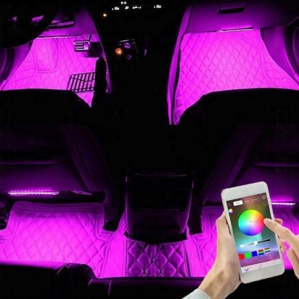 Připojte led světla k autu