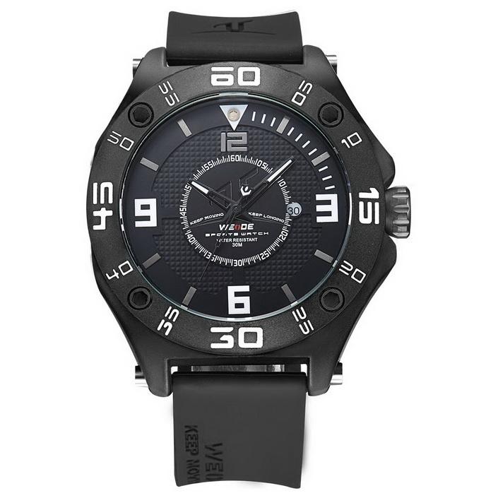35500d4e4 Pánské hodinky Weide Stylo - Černé + poštovné jen za 1 Kč | Poštovné ...